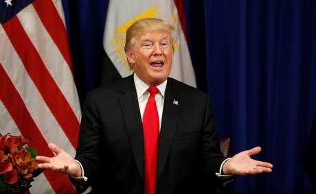 Presidente dos Estados Unidos, Donald Trump, em Nova York 20/09/2017 REUTERS/Kevin Lamarque