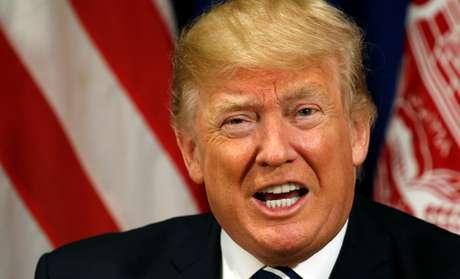 Presidente dos Estados Unidos, Donald Trump, durante reunião com presidente do Afeganistão, Ashraf Ghani, em Nova York 21/09/2017 REUTERS/Kevin Lamarque