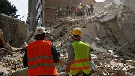 Nessa terça, o terremoto atingiu magnitude 7,1 no México