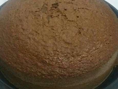 Bolo massa pão de ló