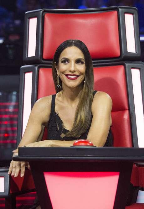 Ivete Sangalo no The Voice Brasil (Foto: Estevam Avellar/Globo/Divulgação)