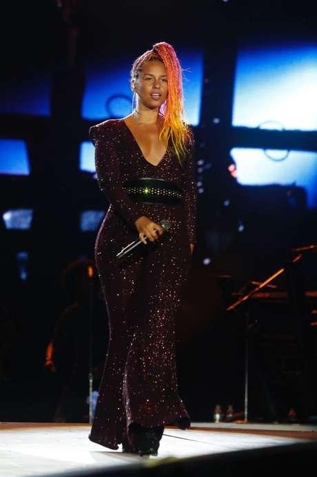 Alicia Keys no Rock in Rio (Foto> Wallace Barbosa/AgNews)