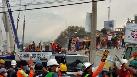 Dezenas de pessoas morreram após desmoronamento de fábrica têxtil | Crédito: Alberto Nájar/BBC