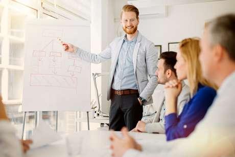 Veja dicas de como agir durante uma apresentação para falar como líder.