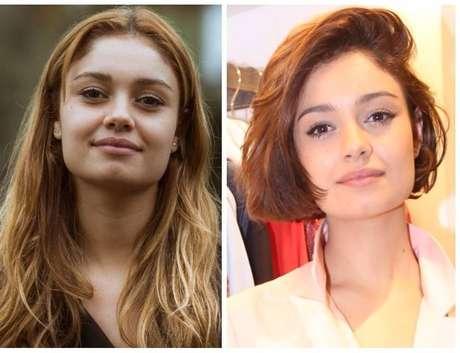Antes e depois de Sophie Charlotte (Fotos: TV Globo/Divulgação - AgNews)