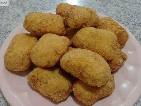 Nuggets de frango cozido