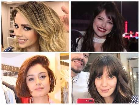 Mudanças de visual das famosas (Fotos: AgNews - Instagram/Reprodução)