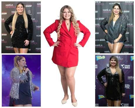 Marília Mendonça com vários looks