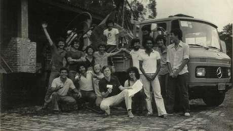 Grupo de alunos da FAU-USP e ECA-USP