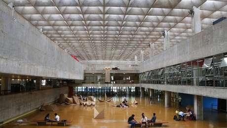 Vista interna do prédio da FAU-USP