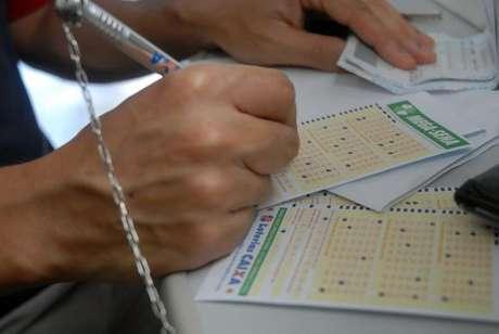 As apostas podem ser feitas em qualquer lotérica do país até as 19h do dia do sorteio