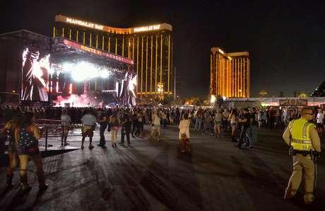 Cerca de 22.000 pessoas estavam na plateia quando o atirador abriu fogo