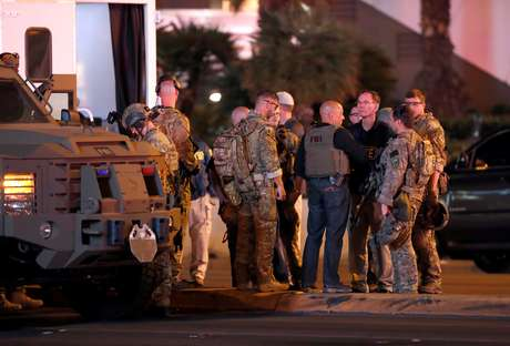 """""""O agressor de Las Vegas se converteu ao islã alguns meses atrás"""", acrescentou a Amaq."""