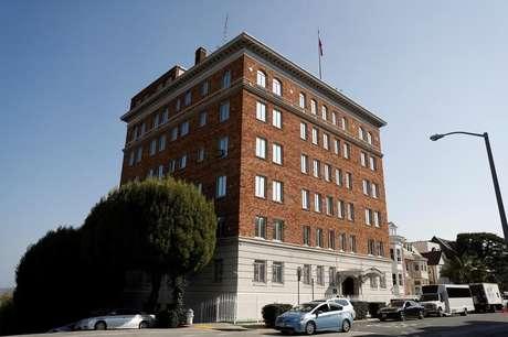 Prédio do Consulado Geral da Rússia, em San Francisco, Estados Unidos 31/08/2017   REUTERS/Stephen Lam