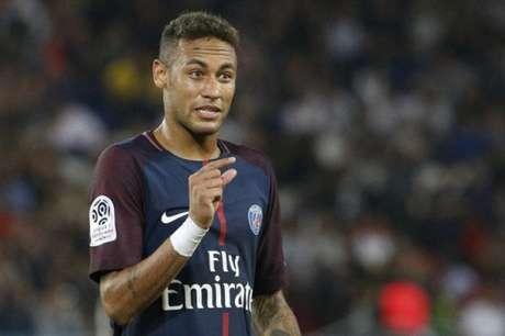 Neymar chegou ao PSG no início desta temporada (Foto: GEOFFROY VAN DER HASSELT / AFP)