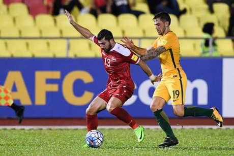 Síria e Austrália empatam no play-off de acesso ao Mundial 2018