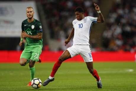 Veja imagens do jogo da Inglaterra