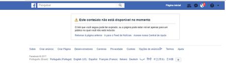 Perfil de Damião foi rapidamente excluído das redes sociais
