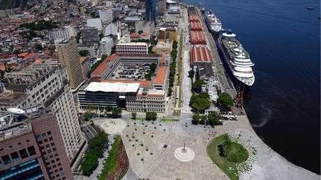 Região do porto do Rio foi revitalizada como legado pós-Olimpíada | Foto: Divulgação