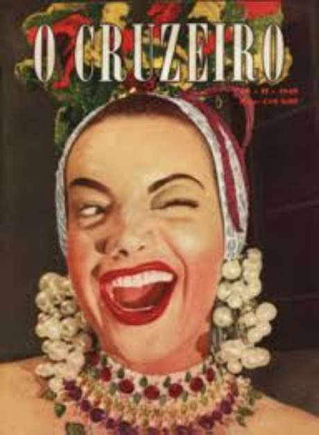 Revista O Cruzeiro com Carmen Miranda na capa (Foto: Reprodução)