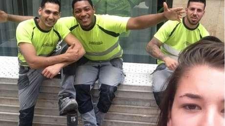 Holandesa Noa Jansma, de 20 anos, registrou imagens durante um mês; segundo ela, agressores ficaram 'orgulhosos' ao ouvirem pedido.