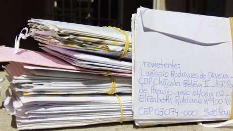 Cartas trocadas entre Laéssio e Carlos Juliano Barros