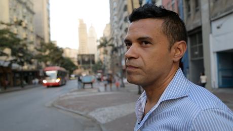 Laéssio no centro de São Paulo