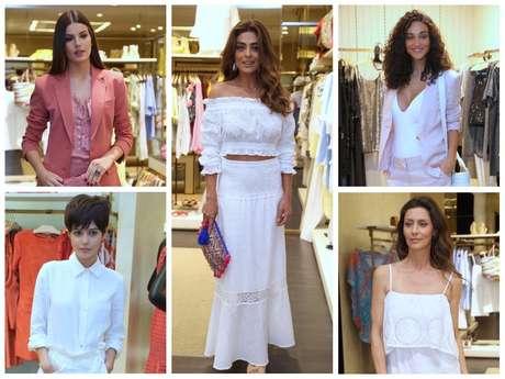 Looks das famosas em evento da Le Lis Blanc (Fotos: Anderson Borde/AgNews)