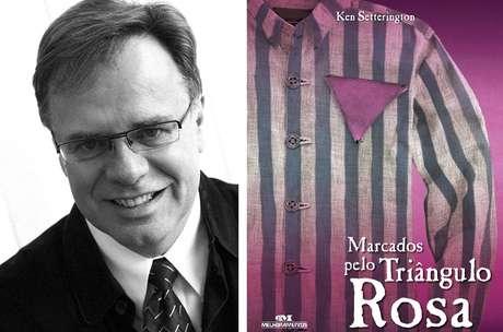 Ken Setterington e capa de seu livro