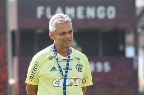 Rueda está tendo tempo para trabalhar e corrigir os erros do Flamengo (Foto: Gilvan de Souza / Flamengo)