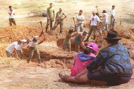 Buscas pelos restos mortais de Che Guevara nas imediações de Vallegrande
