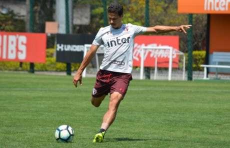 São Paulo treinou para enfrentar o Atlético-MG