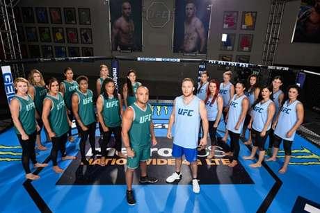 Eddie Alvarez e Justin Gaethje são treinadores do The Ultimate Fighter 26 (FOTO: Reprodução/UFC)