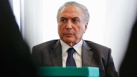 Denúncia contra presidente é fruto de inquérito sobre o 'quadrilhão' do PMDB | Foto: Marcos Corrêa/PR