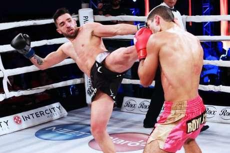 Paulo Tebar vai defender pela primeira vez o cinturão dos super-leves (FOTO: Divulgação)