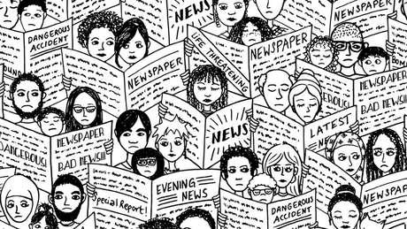 'Artigos de jornais - e as próprias notícias - juntaram-se à longa lista de coisas que eu temia', diz Eve