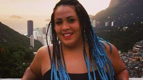 Fabiana Escobar na Rocinha