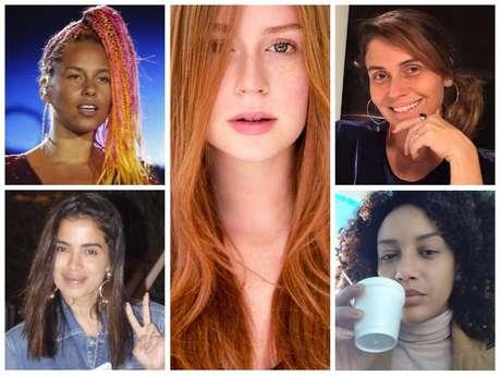 Famosas sem maquiagem (Fotos: Instagram/Reprodução - AgNews)