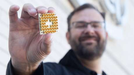 Chip Quântico da Intel
