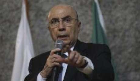 O ministro Henrique Meirelles