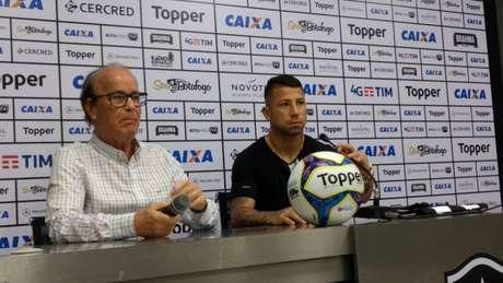 Valencia foi o principal reforço do Botafogo na janela de transferências do meio deste ano (Foto: Felippe Rocha)