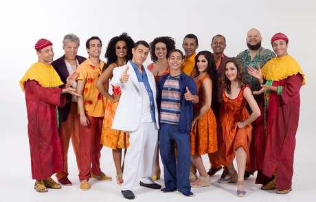 O elenco do musical que reverencia Zeca Pagodinho