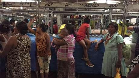Em Belém, eram as mulheres as responsáveis por pedir dinheiro e doações nas ruas da cidade