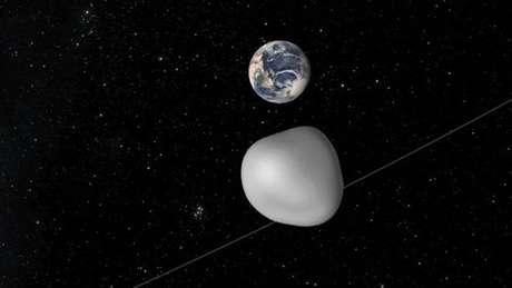 Objetos como o 2012 TC4 passam ao menos três vezes por ano a uma distância relativamente próximos da da Terra