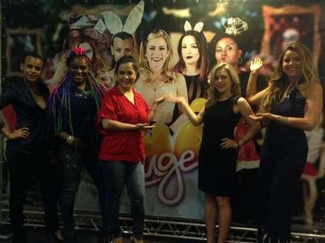 Rouge recebe imprensa para coletiva no Rio de Janeiro