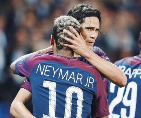 """""""Como disse em outras oportunidades, sou muito realista e sei que no futebol não é preciso ser amigo de todo mundo"""", disse Cavani."""
