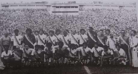 Corinthians foi campeão paulista em 1977