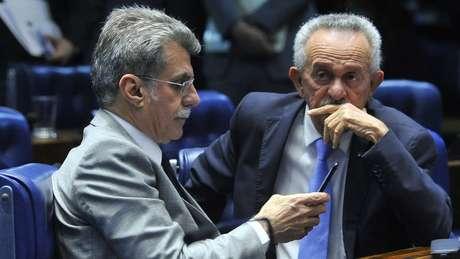 Romero Jucá (PMDB-RR) é um dos senadores investigados na Lava Jato | foto: Geraldo Magela / Agência Senado