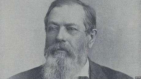 William Fowler era o mestre de cerimônias do Clube dos Treze em Nova York (Crédito: NYPL)