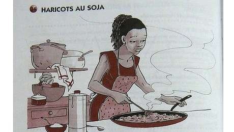 Livro didático do Congo
